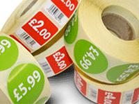 Promotional, Point of Sale & Price Labels